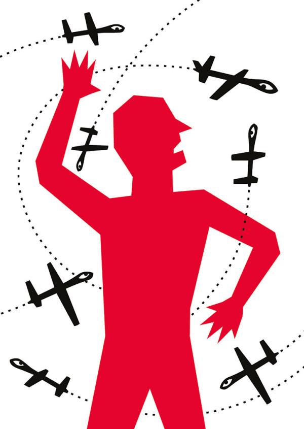 Drohnenschwarm - Wyn Tiedmers - Deutschland